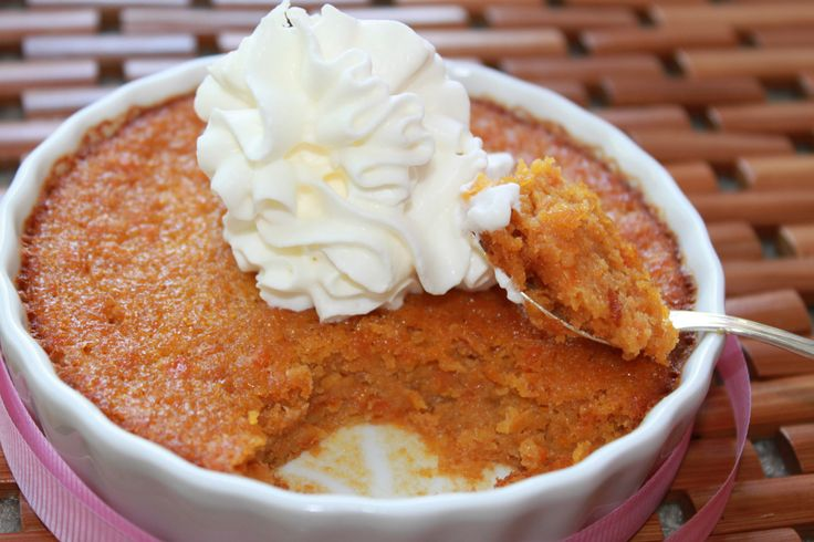 Whole Foods Carrot Souffle