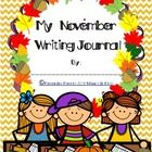 My November Writing Journal Cover is just that! Making your own writing journals couldn't be easier. You provide your own writing pages, so you use...