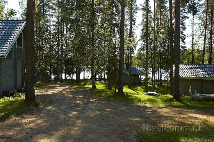 Iso-Härkä, Härkäniemen Tuvat, Mikkeli, Finland