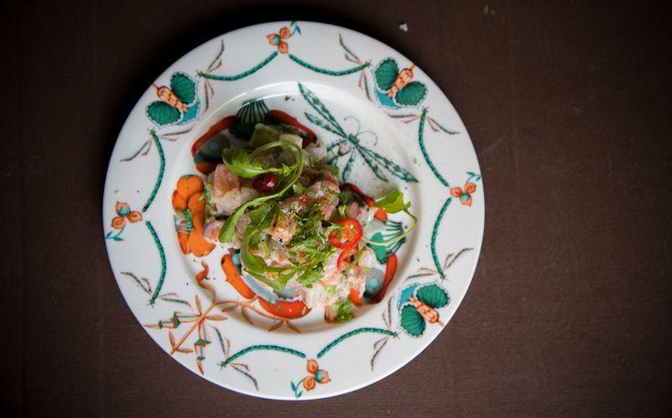 Panzan Ceviche, el classico! Limemarinoitu päivän kalasaalis. Lime marinated fish ceviche #mexican #ceviche #lime #marinated #kuopio