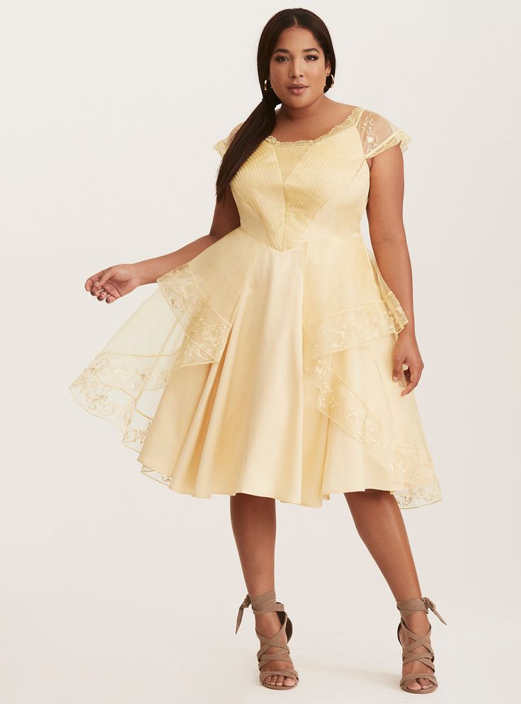 Disney Beauty and the Beast Belle Halloween Ball Gown, YELLOW