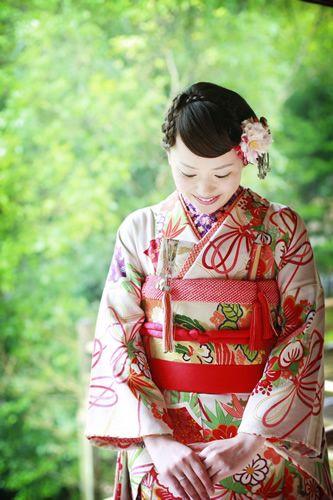 wedding style/kimono