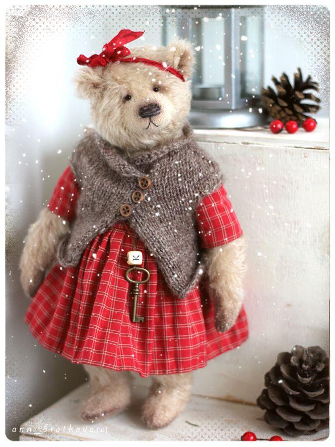 teddy bear klaudia by anna bratkova