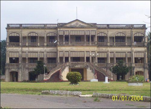 Illustration 3- Le palais du gouverneur de la colonie