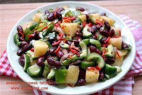Kırmızı Fasulyeli Patates Salatası Tarifi