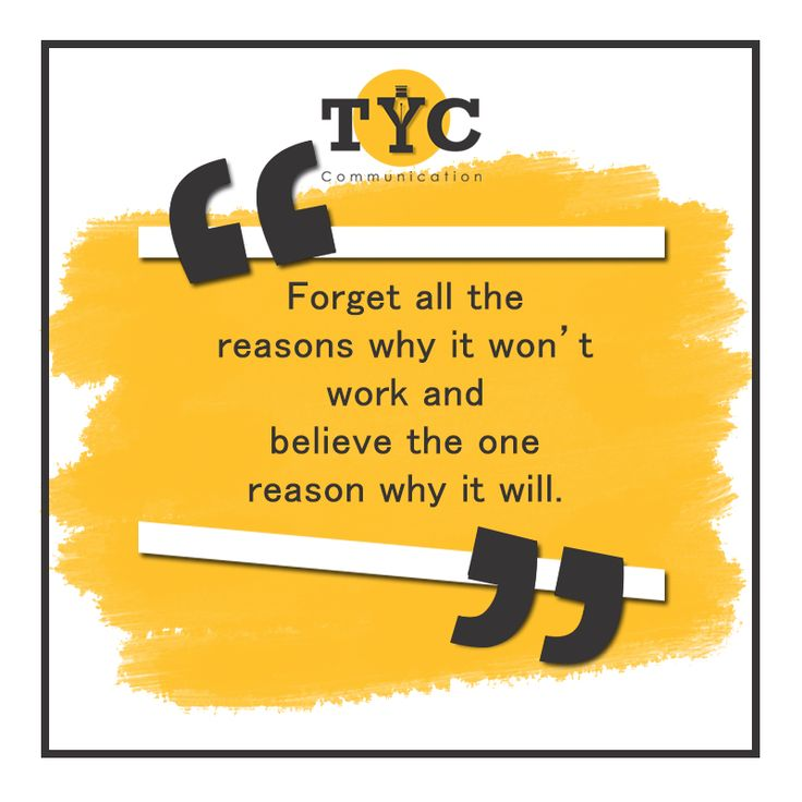 Find a way, not an excuse! #TYCC #quote #quoteoftheday