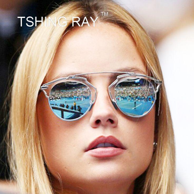 $5.78 (Buy here: https://alitems.com/g/1e8d114494ebda23ff8b16525dc3e8/?i=5&ulp=https%3A%2F%2Fwww.aliexpress.com%2Fitem%2FVintage-Rose-Pink-Cat-Eye-Sunglasses-Women-New-Brand-Designer-Mirror-Sun-Glasses-Fashion-Men-Eyewear%2F32656529750.html ) Vintage Superstar Cat Eye Sunglasses Women Luxury Brand Designer Mirror Sun Glasses Real Fashion Lady Woman Oculos UV400 for just $5.78