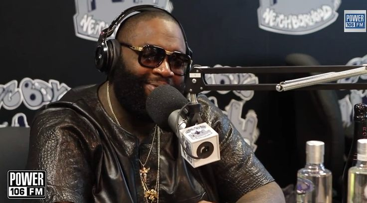 Rick Ross stops by Big Boy's Neighborhood wearing our black #MonsterNPulse's — at Power 106 FM.