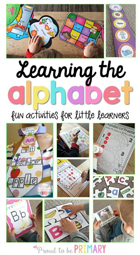 Fun activities, learning ideas, and resources to help children in preschool and Kindergarten learn their alphabet and letter sounds!