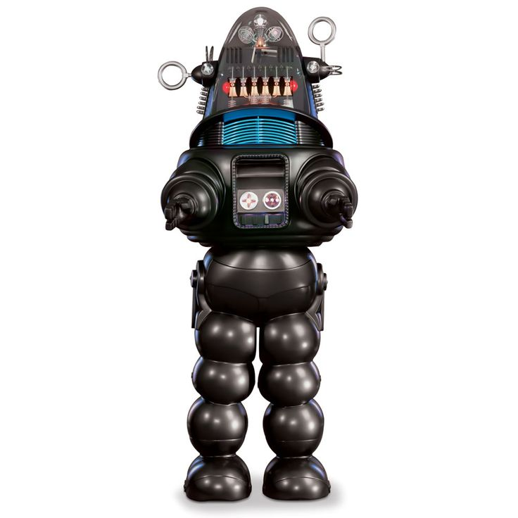 The Genuine 7 Foot Robby The Robot - Hammacher Schlemmer.   I do not know where I can put him though...