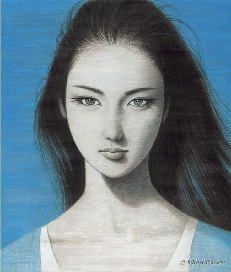 Eternal Sea Blue by Ichiro Tsuruta
