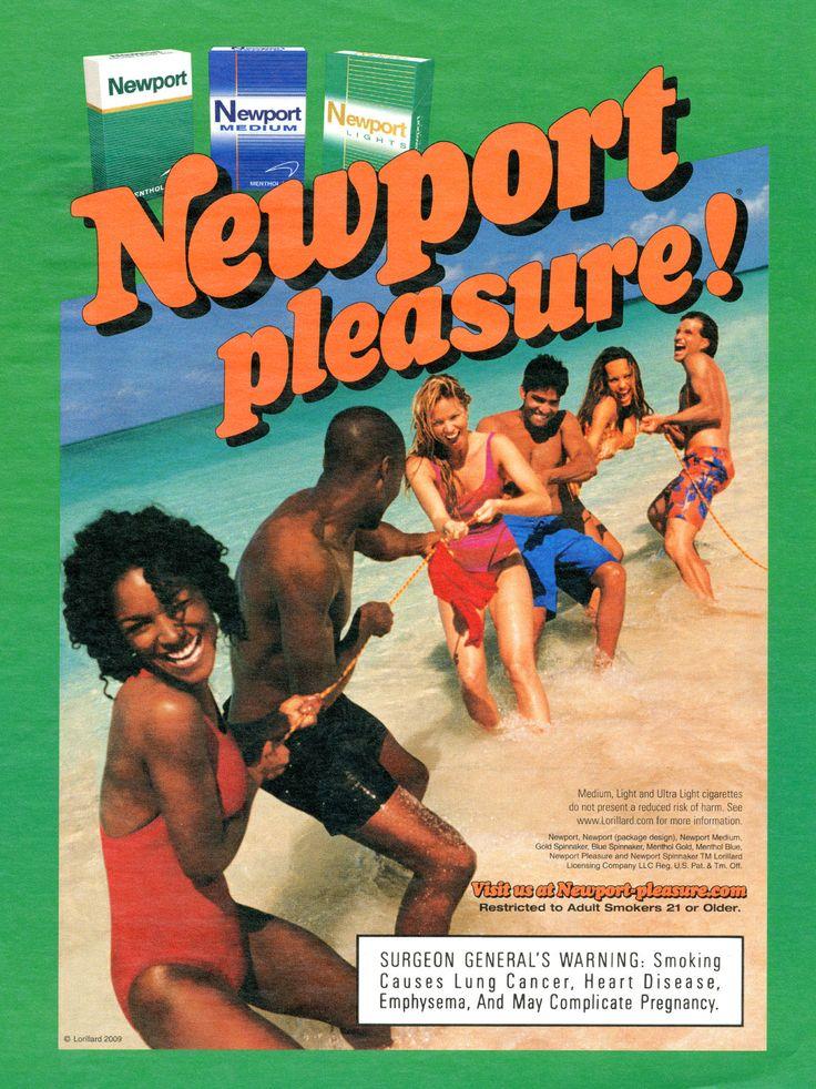 Newport cigarettes ads