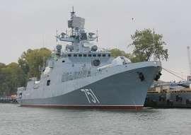 Rosyjskie okręty ostrzelały rejon Palmiry