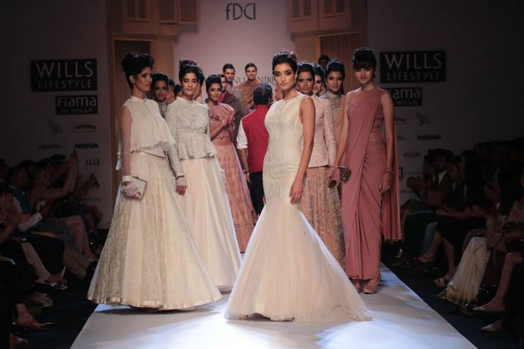 Peplums, fishtails and elegant drapes took over the runway