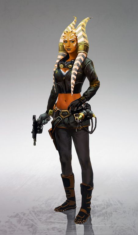 """Star Wars - The Old Republic will get on July 21st the v3.3 update and with this update, the Togruta race will become playable and that's for sure, according to dev BioWare. The community manager, Eric Musco says on the SWTOR forum that the Togruta will be different in compare with other species because """"due to their Montrals, any item worn in your head slot will be automatically hidden. Source > https://mmorpg-news.net"""
