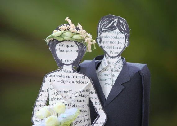 Sposa e lo sposo torta nuziale figure su ordinazione di MarielleJL