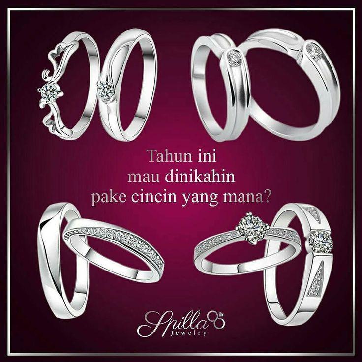 Buat kamu yang udah pengen nikah tapi masih bingung cari cincin nikah yang bukan emas bisa banget nih pake cincin Palladium @spillajewelry.  Palladium itu logam berkualitas yang ga ada kandungan emasnya sama sekali jadi bisa dipakai pria muslim yang tidak diperbolehkan memakai perhiasan emas. __ Tanya/order melalui SMS/WA : 0813-7071-4411  Tag temenmu yang udah kebelet nikah!