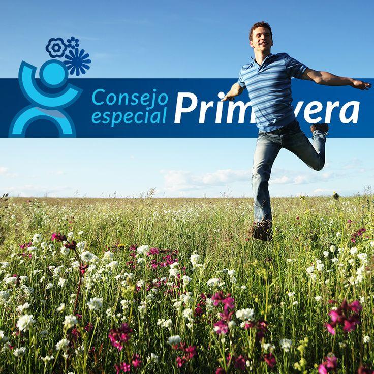 Este mes en nuestro blog, te damos unos sencillos consejos saludables para pongas en práctica esta #Primavera