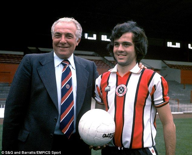 Cheap as chips: Blades boss Harry Haslam (left) signed Alex Sabella (right) for £160,000