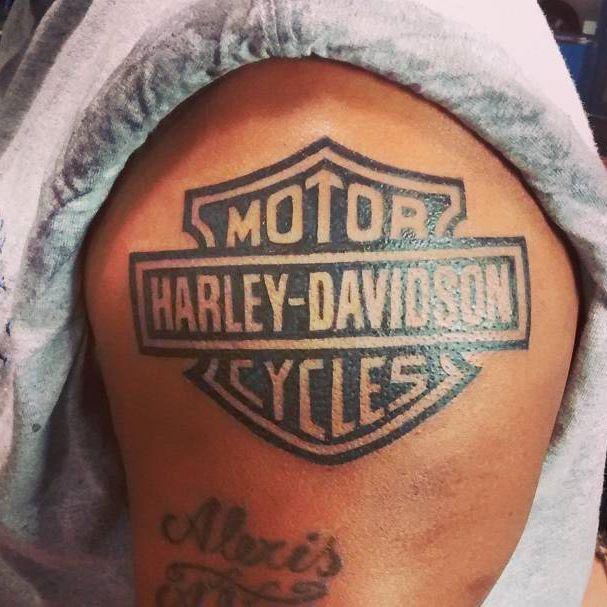 cool Top 100 harley davidson tattoos - http://4develop.com.ua/top-100-harley-davidson-tattoos/ Check more at http://4develop.com.ua/top-100-harley-davidson-tattoos/