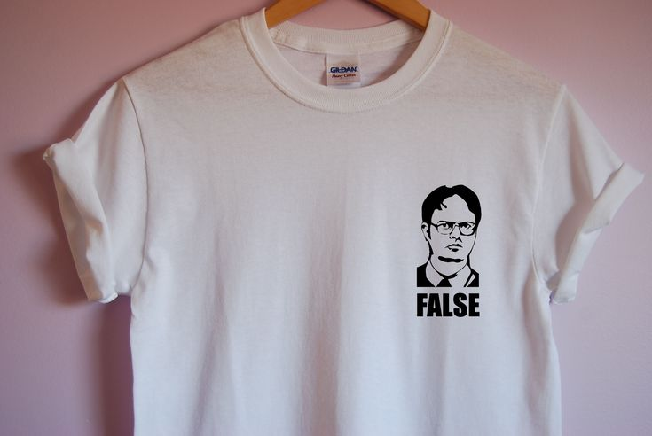 The Office Dwight Schrute False T-Shirt sold by TVTees. Shop more products from TVTees on Storenvy, the home of independent small businesses all over the world.
