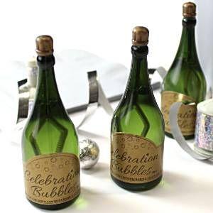 Bolle di nozze Champagne - Verde
