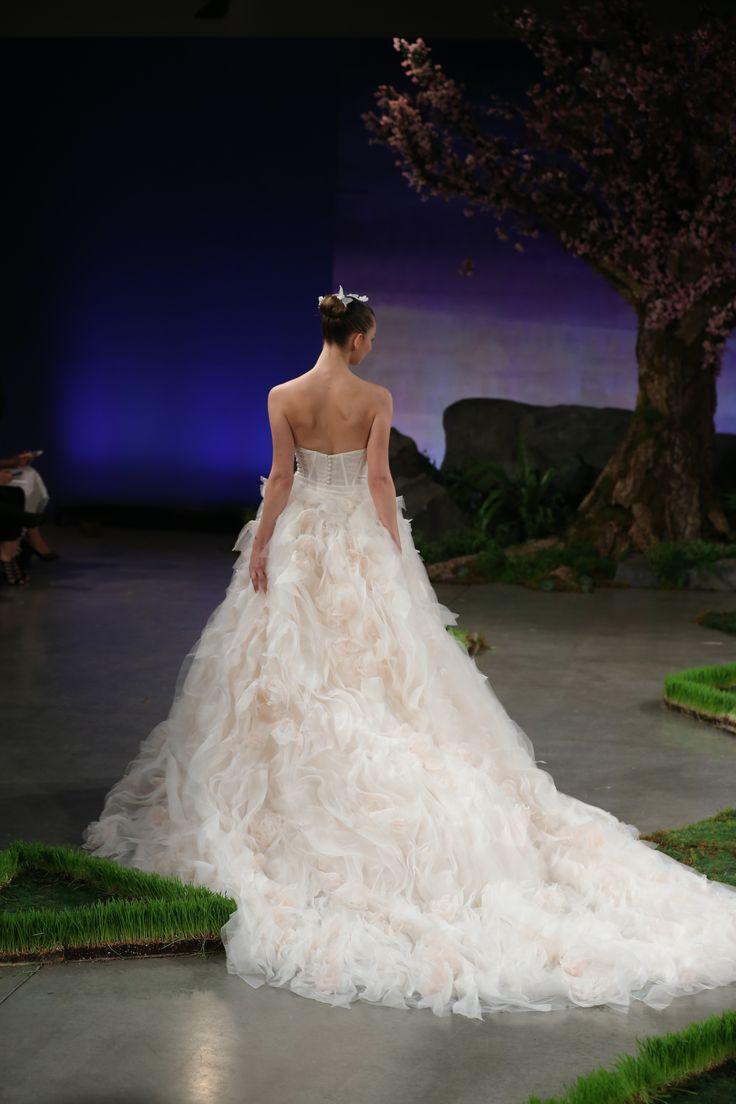 Ines Di Santo 'Blossom' gown.