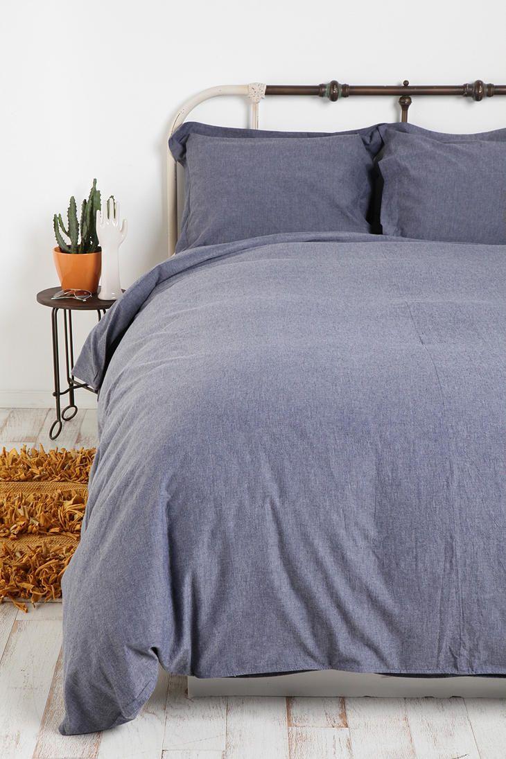 Chambray Duvet Cover Bedding Pinterest Tyxgb76aj