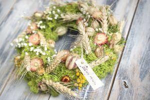 natur moss wreath