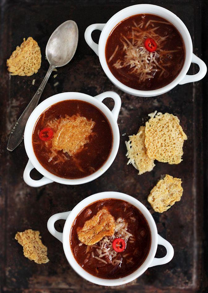 burczymiwbrzuchu: Czerwona zupa cebulowa