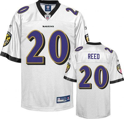 reebok baltimore ravens ed reed 20 red authentic jerseys sale  supplier