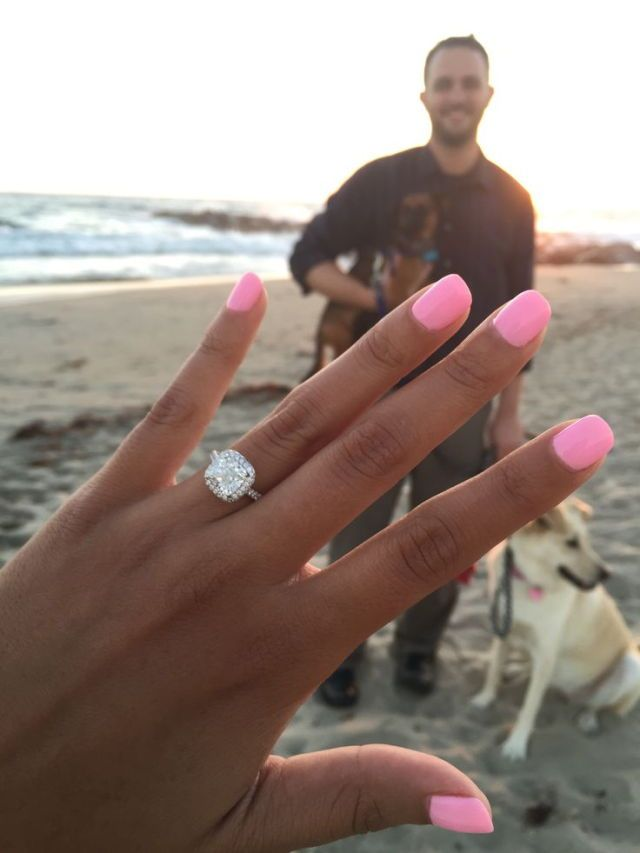 Love that nail color and the ring is gorgeous too