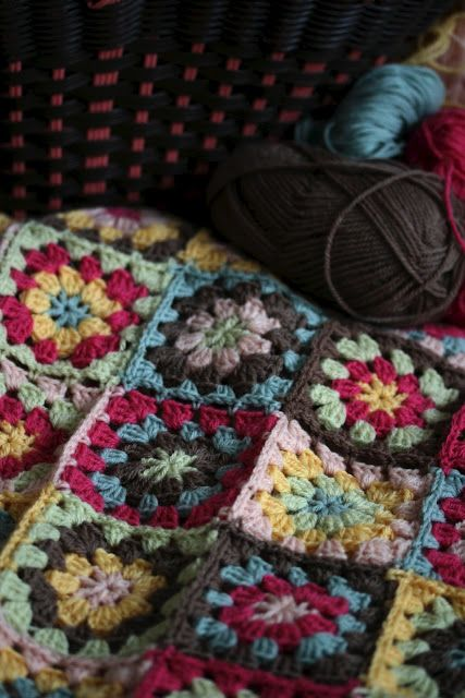 Love the Colors in this blankie! Coco Rose Diaries