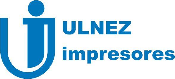 "Logo ""ULNEZ IMPRESORES"""