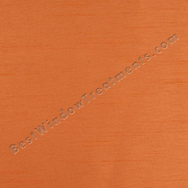 Energex Self Lined Blackout Curtains in Papaya orange for girls, boys bedroom or fun theater room curtains