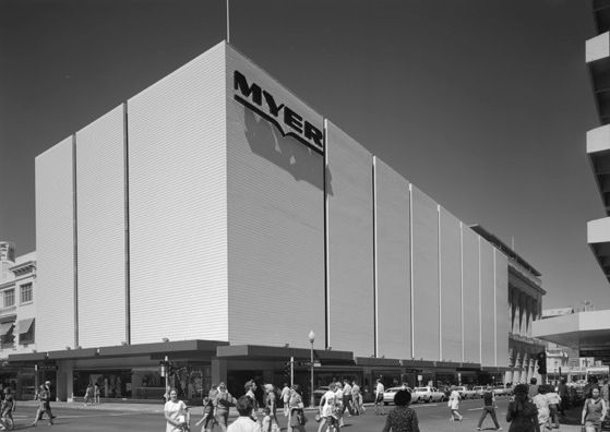 Myer Department Store, corner of William and Murray Streets, Perth, 1972.