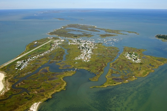 Tangier Island - Off the Chesapeake Bay in Virginia.