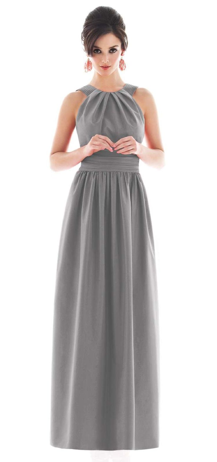 17 Best images about GRAY BRIDESMAID DRESSES on Pinterest | Wrap ...