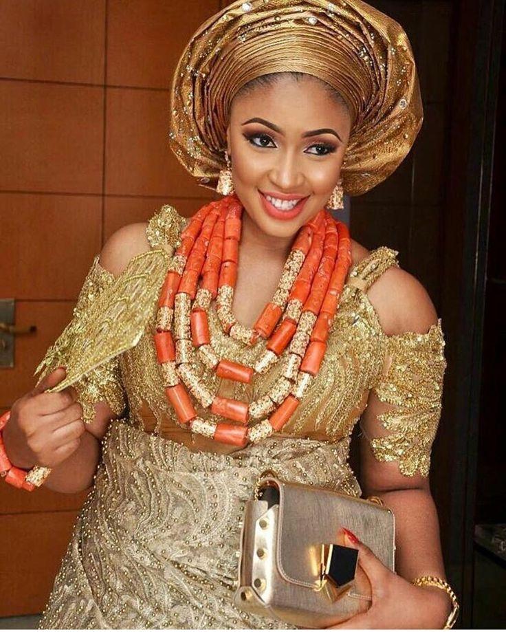 Igbo Nigerian Wedding: 181 Best Blouse Styles Images On Pinterest