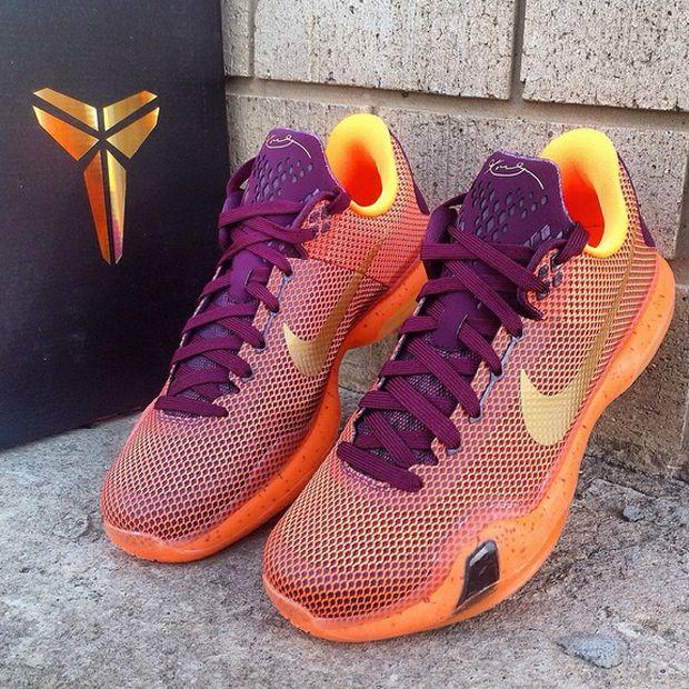 67943c1c7b85 Nike Kobe 10 - Merlot - Metallic Gold - Villain Orange - SneakerNews.com
