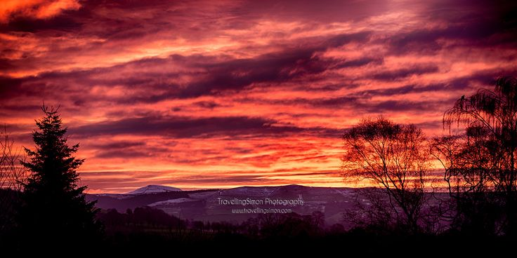 Macclesfield Forest and Shutlingsloe Sunrise
