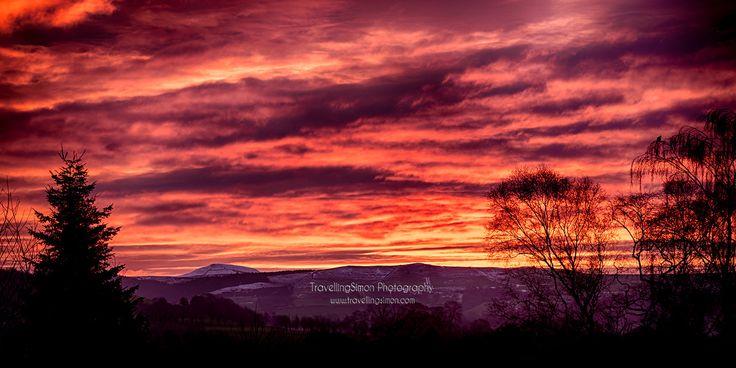 Macclesfield Forest and Shutlingsloe Sunrise