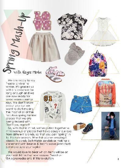 Alegre Media's Spring Mash-Up fashion piece in the April/May 16 issue of Little Revolution Magazine http://www.thelittlerevolution.co.uk/#/little-revolution-april-may/ #alegremedia