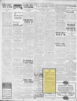 Page context of clipping  Obituary,   Jan 02, 1912, Richmond Va., The Times Dispatch, page 2,  Baker, Ford, Pemberton and Jacobs.