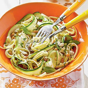 pasta con ricotta y zucchini.....mmmmm | MyRecipes.com