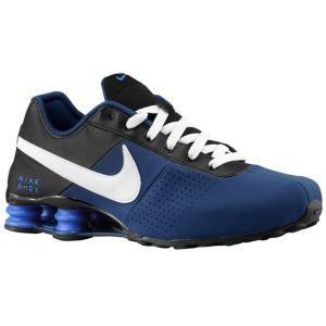 Nike Shox Deliver - Men's - Brave Blue/Grey/Black/Game Royal
