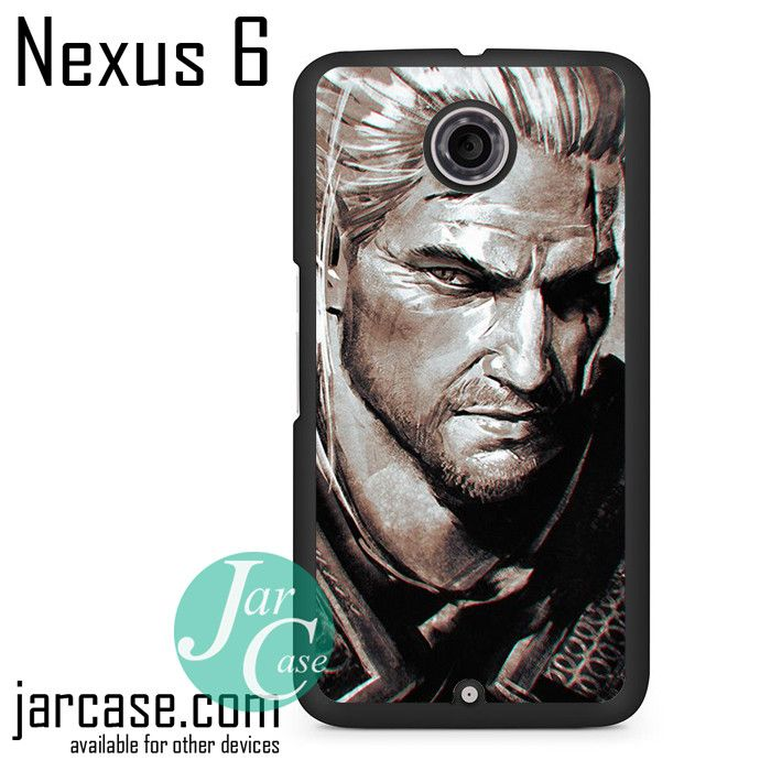 Geralt Of Rivia The Witcher Phone case for Nexus 4/5/6