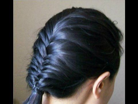 learn how to fishtail braid your own hair