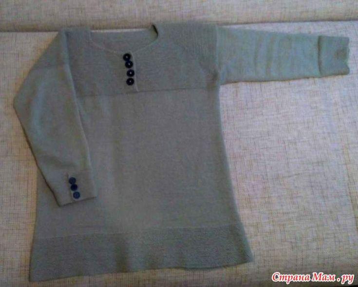 Пуловер по мотивам Вивьен Ким.
