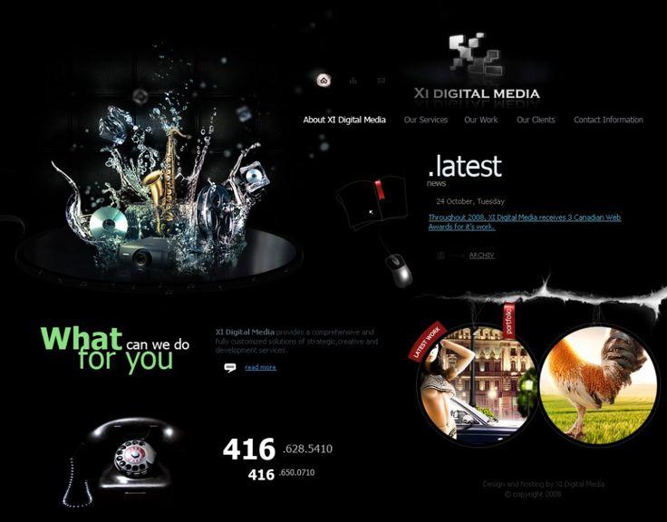 XI Digital Media site